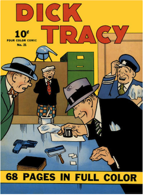 Four Color #21: Dick Tracy. Click for values.