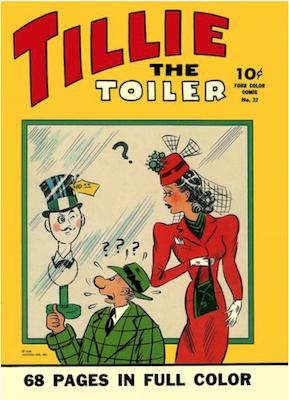 Four Color #22: Tillie the Toiler. Click for values.