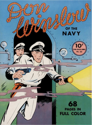 Four Color #22: Don Winslow of the Navy. Click for values.