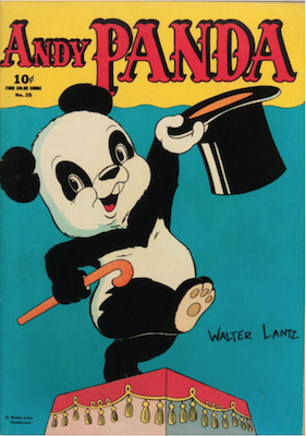 Four Color #25: Andy Panda (#1). Click for values.