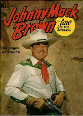Johnny Mack Brown (#1): Four Color #269. Click for values