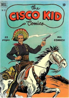 Four Color #292: The Cisco Kid (#1). Click for values.