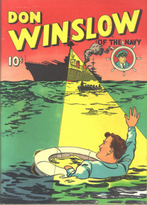 Don Winslow of the Navy: Four Color #2 (1939); rare. Click for values