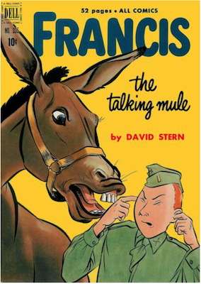 Four Color #335: Francis the Talking Mule (#1). Click for values.