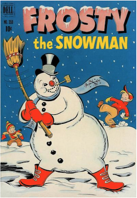 Four Color #359: Frosty the Snowman (#1). Click for values.
