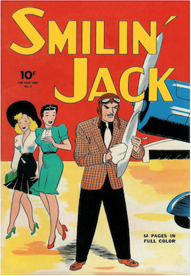 Four Color #4: Smilin' Jack. Click for values.