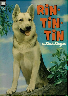 Rin Tin Tin (#1): Four Color #434. Click for values