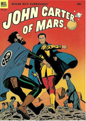 Four Color #437: John Carter of Mars. Click for values.