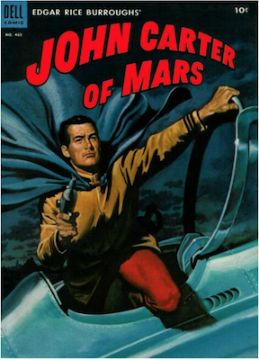 Four Color #488: John Carter of Mars. Click for values.