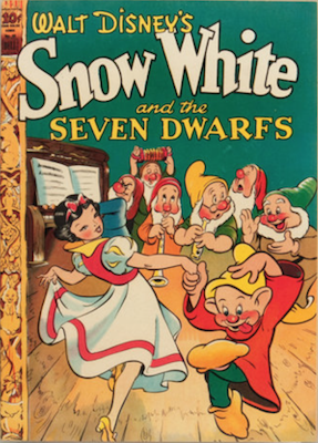 Four Color #49: Snow White and the Seven Dwarfs. Click for values.