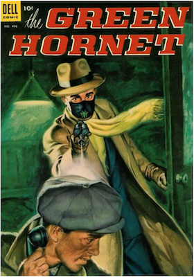 Four Color #496: The Green Hornet. Click for values.