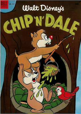 Four Color #517: Walt Disney's Chip 'n' Dale (#1). Click for values.