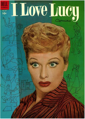 Four Color #559: I Love Lucy (#2). Click for values.