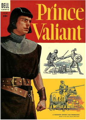 Four Color #567: Prince Valiant (#1). Click for values.