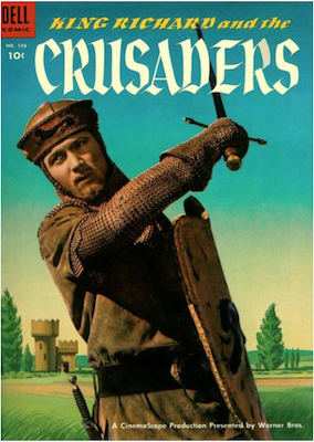 Four Color #588: King Richard and the Crusaders; Matt Baker art. Click for values.