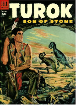 Four Color #596: Turok, Son of Stone (#1). Click for values.