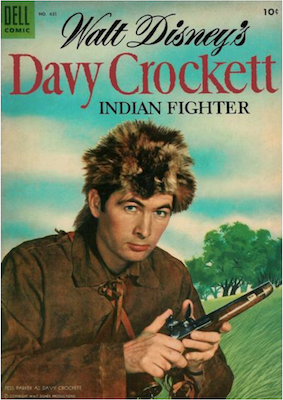 Davy Crockett, Indian Fighter (#1): Four Color Comics #631. Click for values