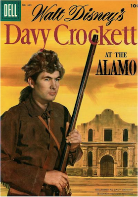 Four Color #639: Davy Crockett at the Alamo. Click for values.
