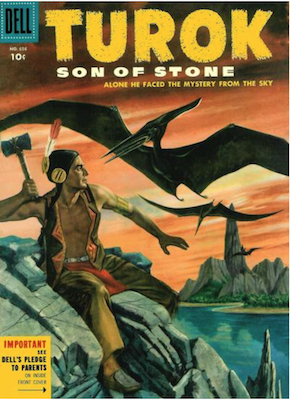 Four Color #656: Turok, Son of Stone (#2). Click for values.
