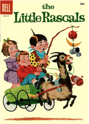 Four Color #674: The Little Rascals (#1). Click for values.