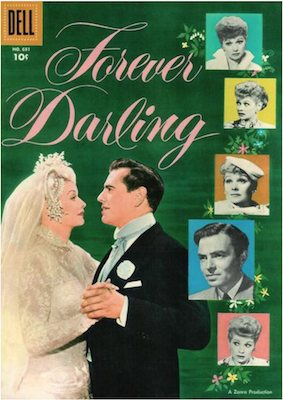 Four Color #681: Forever Darling (Lucille Ball). Click for values.