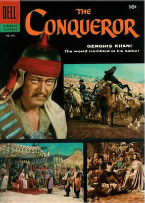 Four Color #690: The Conqueror (John Wayne). Click for values.