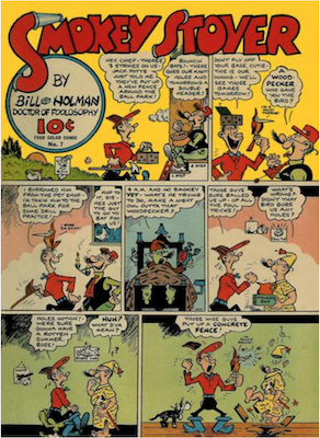 Smokey Stover: Four Color #7 (1942). Dell Comics. Click for values