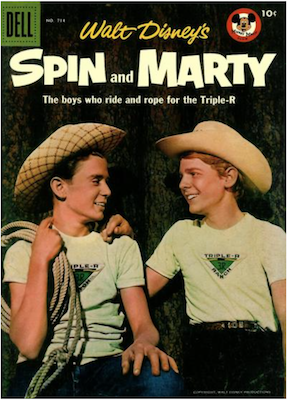 Spin and Marty: Four Color #714. Click for values
