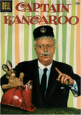 Four Color #721: Captain Kangaroo. Click for values.