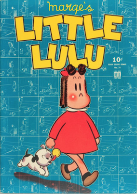 Four Color #74: Marge's Little Lulu (#1). Click for values.