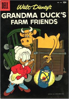 Four Color #763: Grandma Duck's Farm Friends (#1). Click for values.