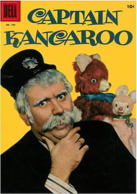 Four Color #780: Captain Kangaroo. Click for values.
