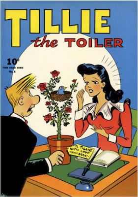 Four Color #8: Tillie the Toiler. Click for values.
