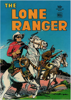 Lone Ranger: Four Color #82. Click for values