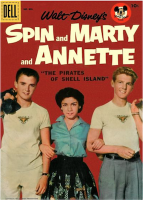Four Color #826: Spin and Marty photo cover. Click for values.
