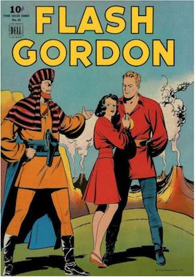 Four Color #84: Flash Gordon by Alex Raymond. Click for values.