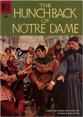 Hunchback of Notre Dame: Four Color #854 (1957). Click for values