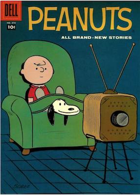Peanuts Comic Books by Dell Comics