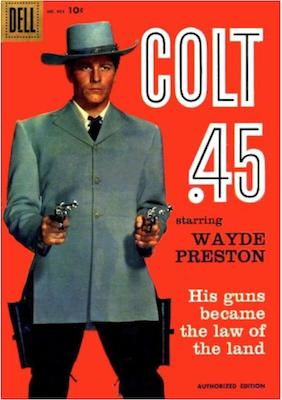 Four Color #924: Colt .45 (#1). Click for values.