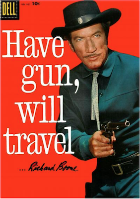 Have Gun, Will Travel (#1): Four Color #931 (1958). Click for values