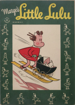 Four Color #97: Marge's Little Lulu. Click for values.