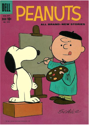 Four Color #1015: Peanuts (#3). Click for values.