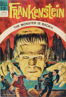 Frankenstein #1 (1964). Dell. Click for values