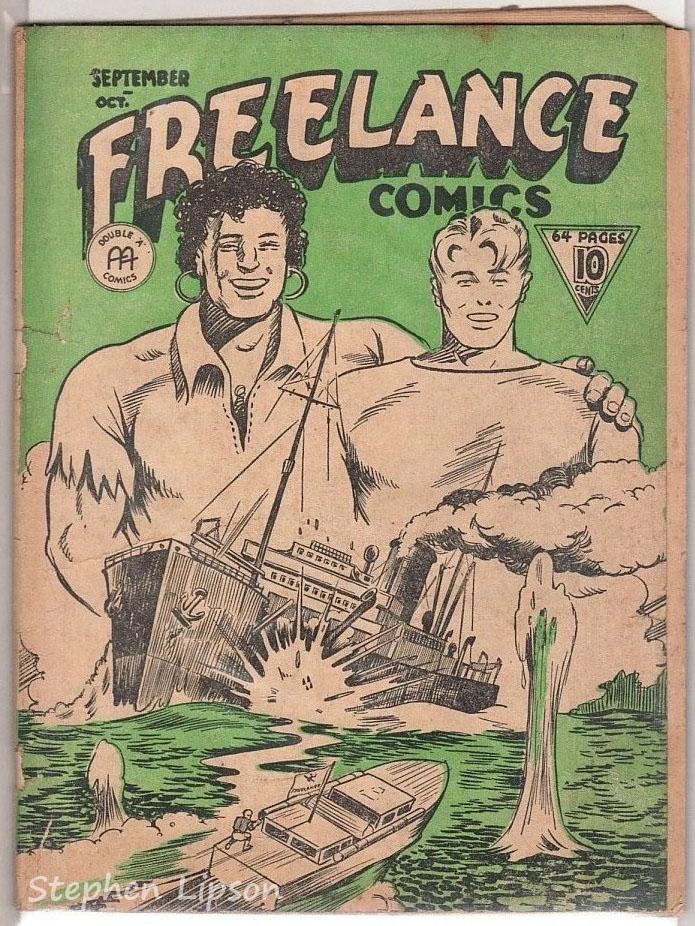 Freelance Comics v1 #10