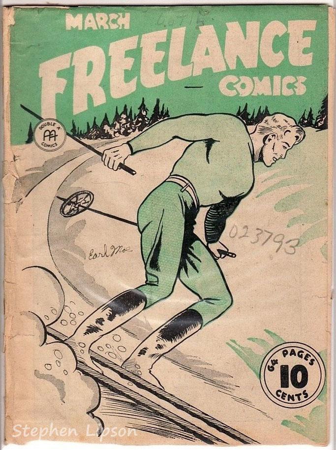 Freelance Comics v1 #6