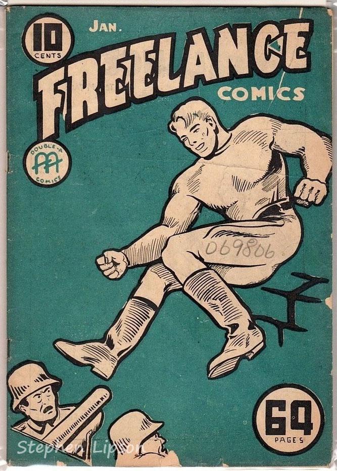 Freelance Comics v1 #4