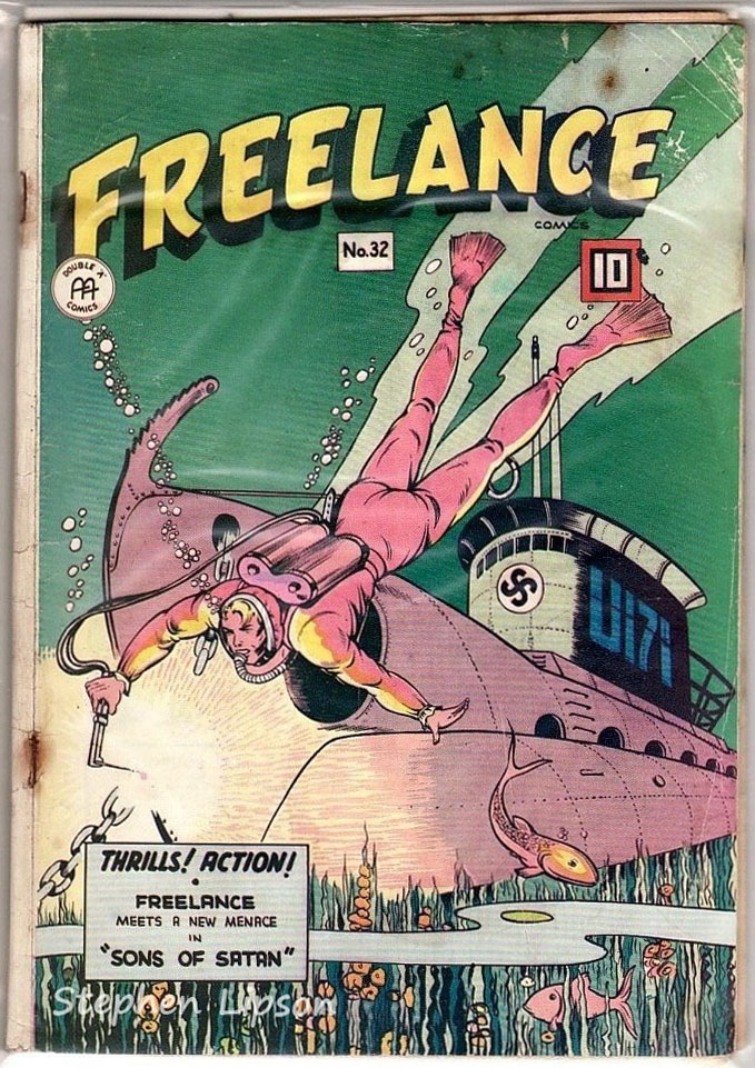 Freelance Comics issue #32