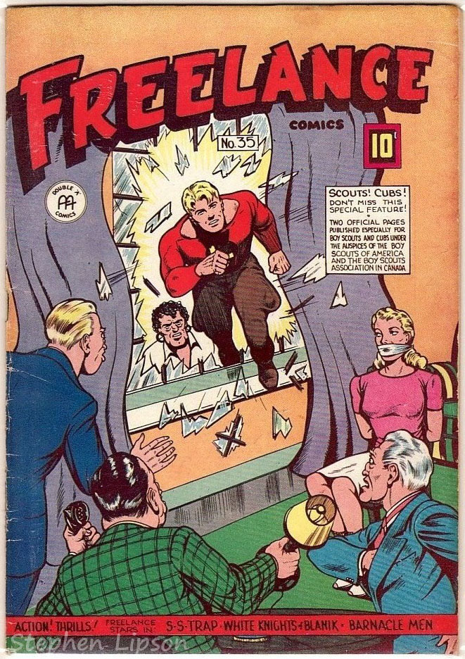 Freelance Comics issue #35