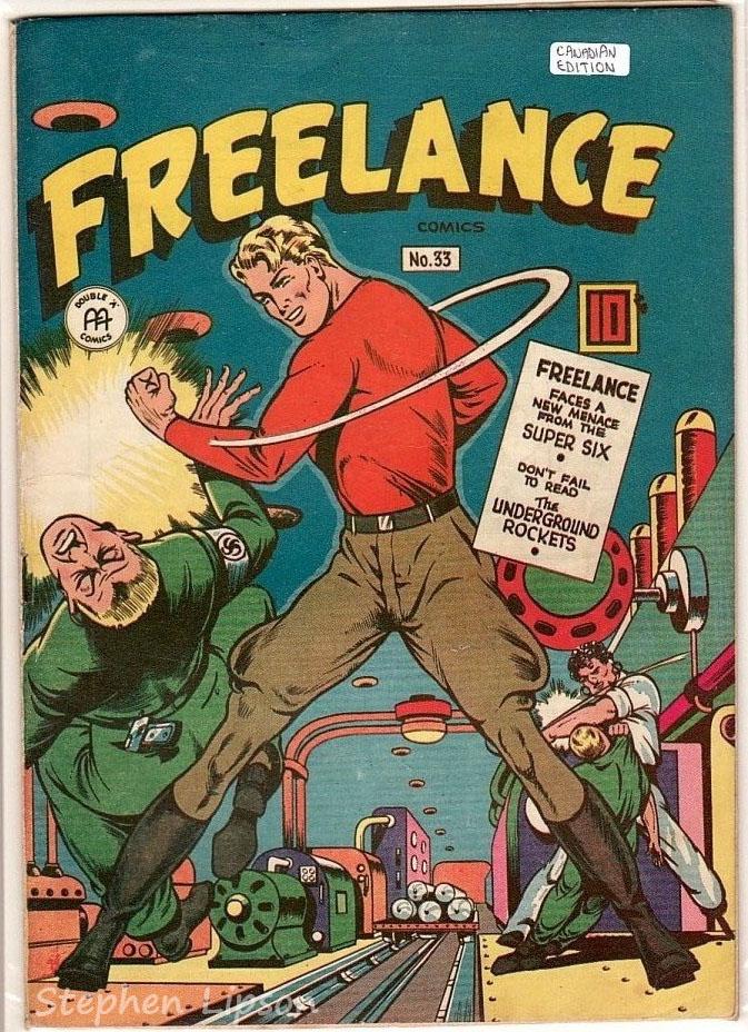 Freelance Comics issue #33