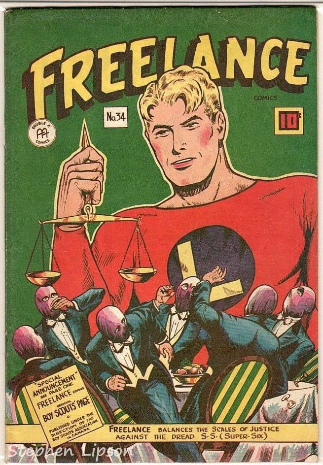 Freelance Comics issue #34